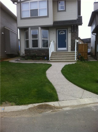 Home front path after