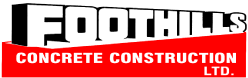 Foothills concrete construction